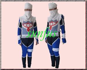 Halloween The Legend Of Zelda Sheik Cosplay Costume Game Ebay