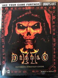 diablo ii 2 ultimate strategy guide by brady games book ebay rh ebay com diablo 2 build guide diablo 3 strategy guide free