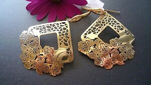 STUNNING-GENUINE-GOLD-PLATED-SOLID-925-STERLING-SILVER-EARRINGS-MADE-IN-ITALY