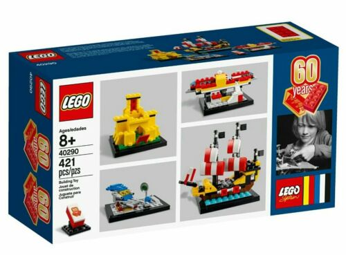 """LEGO 40290 PROMO Limited 60 Years /""""LEGO System/"""" RETRO SET NEW IN BOX"""