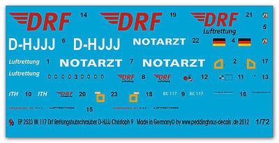 1/72 Ep 2523 Bk 117 Drf Elicottero Di Salvataggio D-hjjj Christoph 9 Curare La Tosse E Facilitare L'Espettorazione E Alleviare La Raucedine