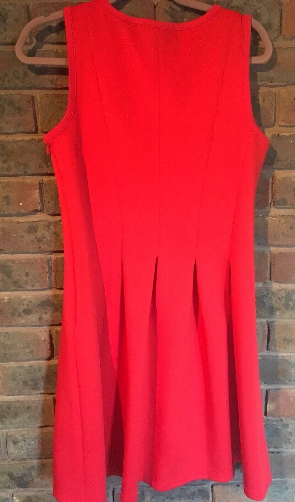 67a4dabd20d0 ... Ann taylor taylor taylor Womens Red Short Dress US8 UK12 d27a07 ...