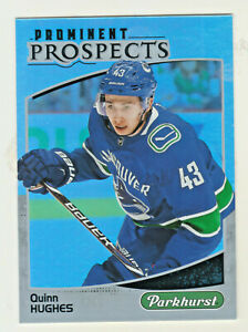 2019-20-Upper-Deck-PARKHURST-PROMINENT-PROSPECTS-QUINN-HUGHES-RC-Rookie-Canucks