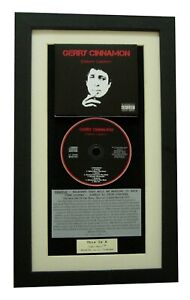 GERRY-CINNAMON-Erratic-Cinematic-CLASSIC-CD-Album-QUALITY-FRAMED-FAST-WORLD-SHIP