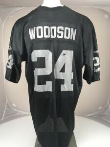 purchase cheap 31315 45813 VTG 90s 000s Puma Oakland Raiders Charles Woodson #24 NFL ...