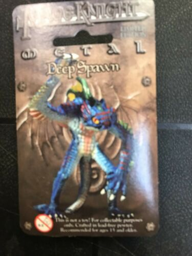 Amazing! Details about  /Mage Knight Deep Spawn WZK543 Pewter Miniature Figure
