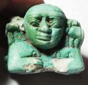 Zurqieh Faience Fragment Of A Large Amulet Ancient Egypt 600 B.c At All Costs asw314