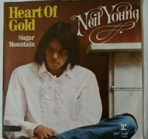 NEIL-YOUNG-Unplayed-7-034-1971-Heart-of-Gold-Sugar-mountain-REP-14140-Germany