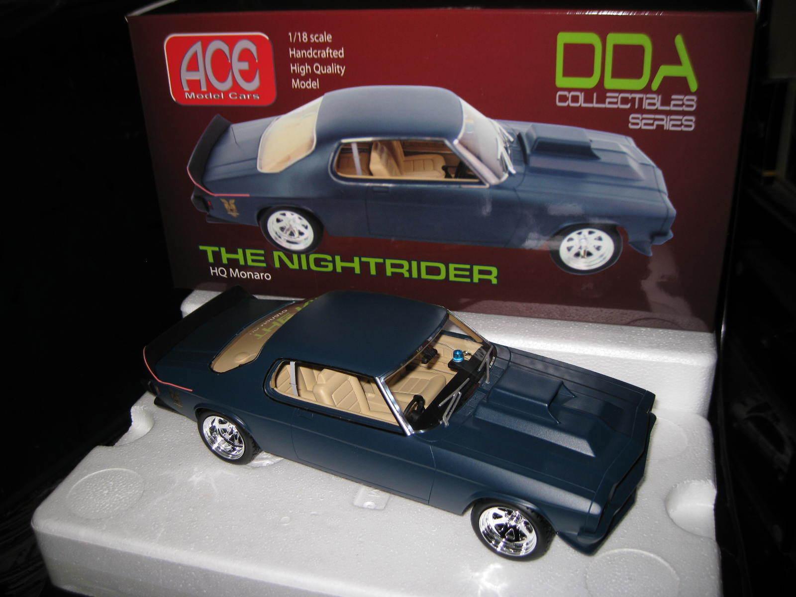 ACE DDA  Mad Max THE NIGHTRIDER HQ HOLDEN MONARO MFP MOVIE CAR  LTD EDITION
