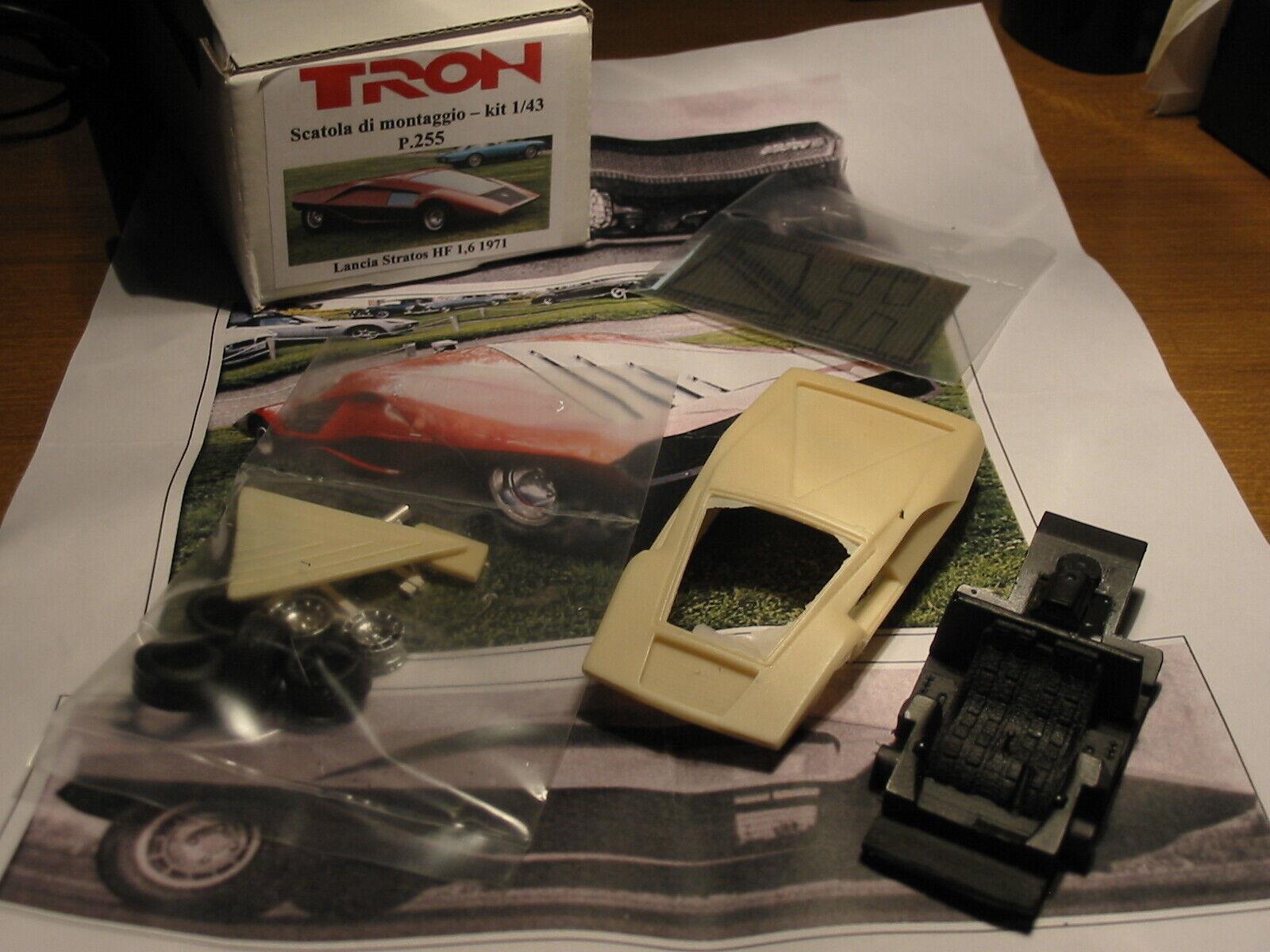 kit Lancia Stratos 1,6 projootype 1971 - Tron Models kit 1 43