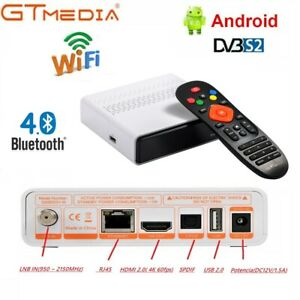Android 6.0 TV BOX GTMEDIA GTC GTS Amlogic Quad Core WIFI 4K TV CAJA MediaPlayer