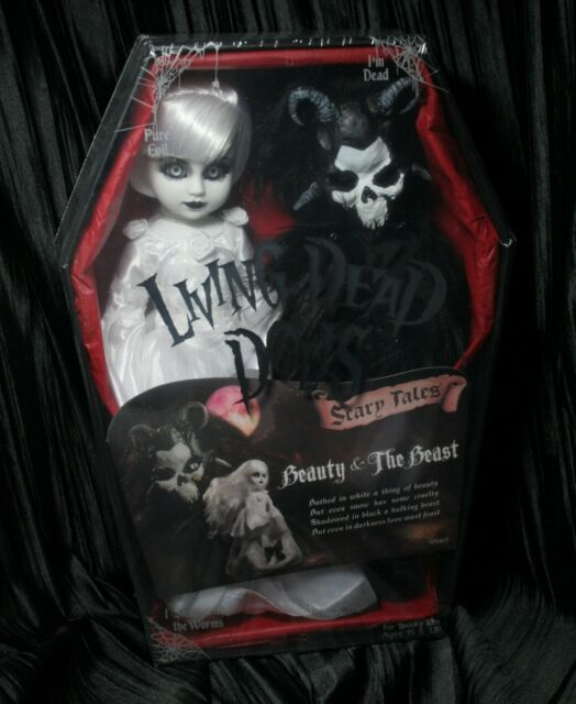 Living Dead Dolls Beauty and The Beast #2 Scary Tales Double Coffin sullenToys