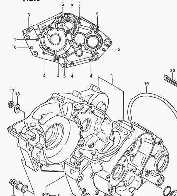 SUZUKI LT500R QUADZILLA STAINLESS engine BOLT SCREW SET KIT 1987-1990 POLISHED