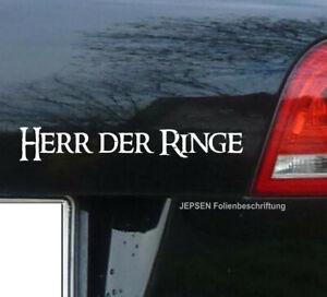 Autoaufkleber-Audi-Herr-der-Ringe-S016-in-18cm-Wunschfarbe-Sticker-JDM-OEM