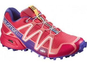 Dettagli su Scarpe TRAIL RUNNING Donna SALOMON SPEEDCROSS 3 W Papaya Melon UK 4 EU 36 23