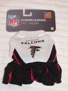 on sale 53f84 64e97 Details about ATLANTA FALCONS NFL CHEERLEADER DOG DRESS XS NWT $24.99 FREE  SHIP
