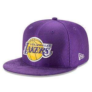 super cute dafca c75ca Image is loading New-Era-Los-Angeles-Lakers-NBA-Draft-On-