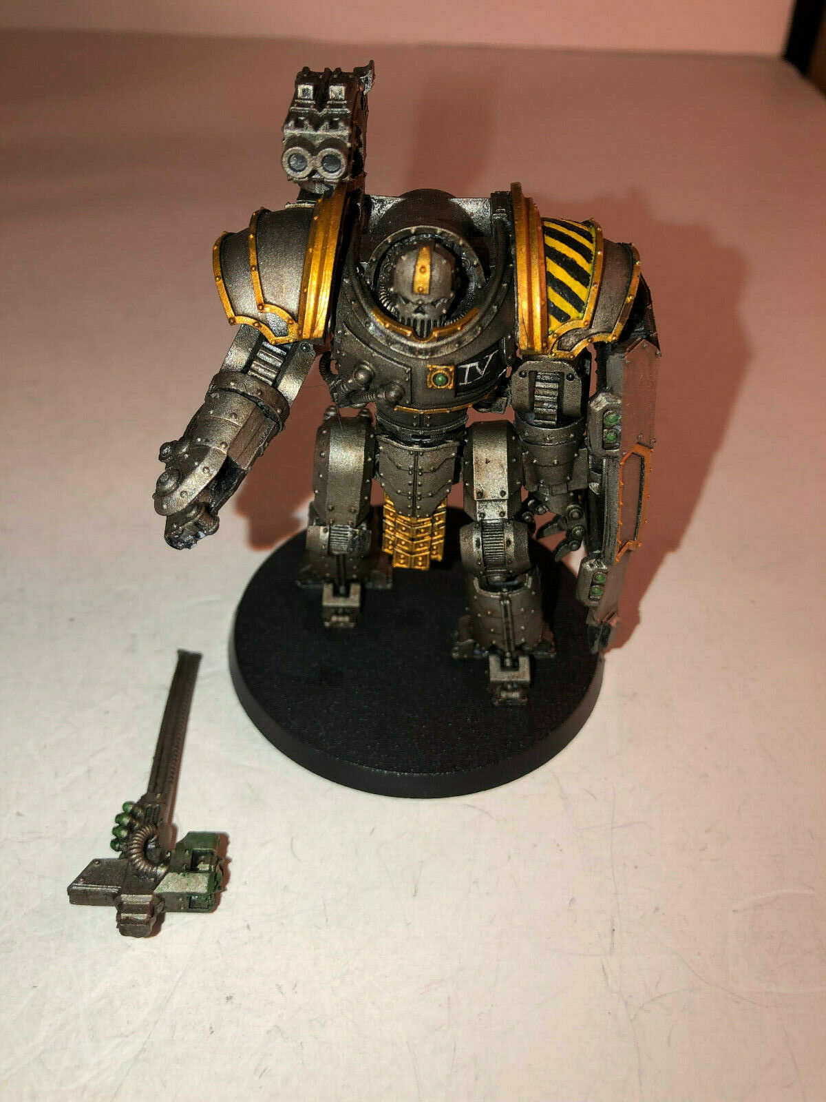 Warhammer 40000 40k Forgeworld Iron Warriors Iron Circle painted 7 10 61719
