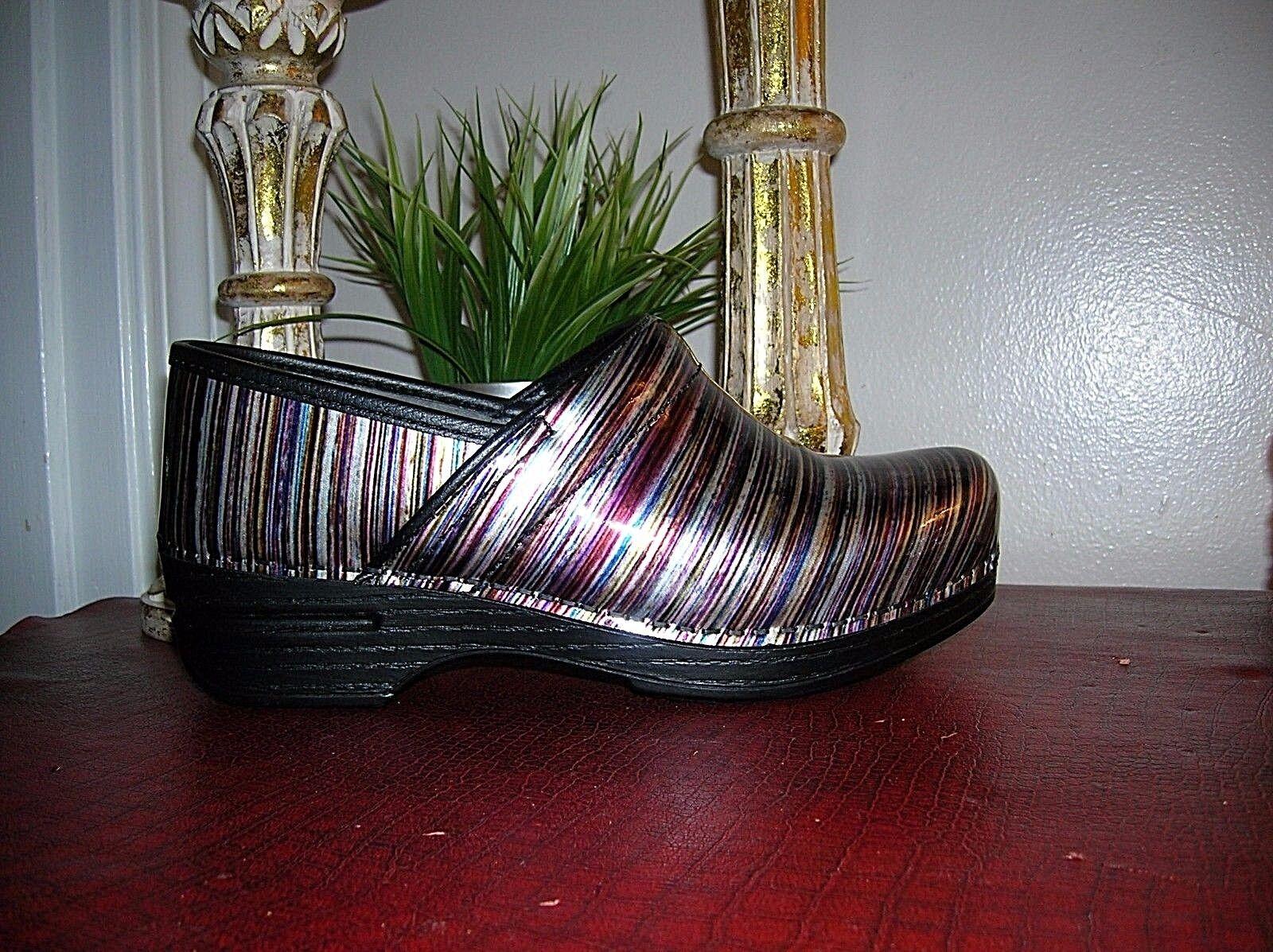 New Women's Dansko Grey Patent Professional Clogs Clogs Clogs shoes Size eu 42 us 11.5-12 3981f1
