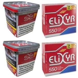 2 x Elixyr Red Special Box Volumen Tabak 330 Gramm + 1.100 ...