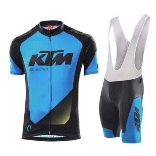 KTM Short Sleeve Clothing Men/'s Cycling Jersey Pants Team Bike Bicycle Bib Tight