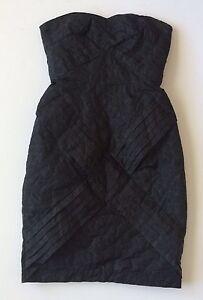 Jean Paul Gaultier For Target Sz 1 Dress Black Back Zip Sleeveless ... 06553cf2f