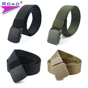 Men's Accessories Men's Belts Fashion Military Metal-Free Web Belt Waistband Outdoor Sports Canvas Nylon Men