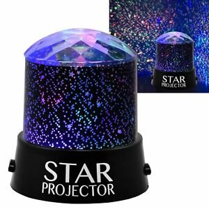 Childrens Star Projector Night Light Sky Led Projector Mood Lamp Kids Bedroom