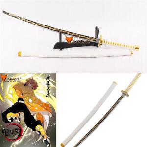 Demon-Slayer-Kimetsu-No-Yaiba-Agatsuma-Zenitsu-Sword-PVC-Handhelds-Cosplay-Prop