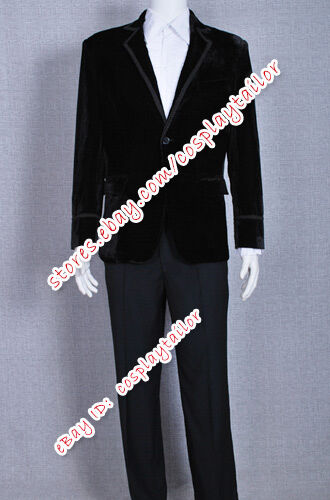 The Third Doctor Costume Jacket Who is 3rd Dr Jon Pertwee Costume Jacket Coat
