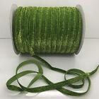 "New 5 yard 3/8""10mm Sparkle Glitter Velvet Ribbon Headband DIY Craft supplies#23"