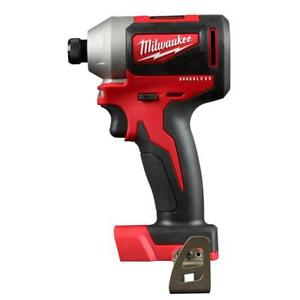 New-Milwaukee-2850-20-M18-Compact-Brushless-1-4-034-Hex-Impact-Driver-Bare-Tool