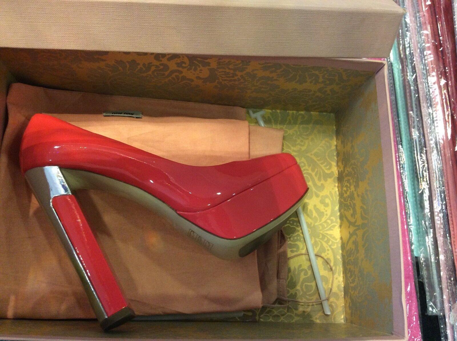 Zapatos señora Platón Miu Miu By Prada pumps pumps pumps 38  80% de descuento