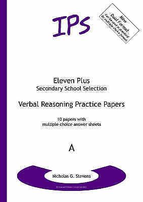 Verbal Reasoning Practice Papers: Dual Format: Set  A by Nicholas Geoffrey...