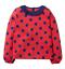 miniatuur 8 - Mini Boden Girls Bee/Ladybird Long Sleeves Top T-shirt Frill 3D Applique Stripe