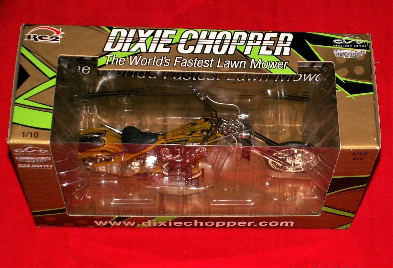 DIXIE CHOPPER orange COUNTY CHOPPER OCC 25th 2004 ANNIVERSARY CHOPPER MOTORCYCLE