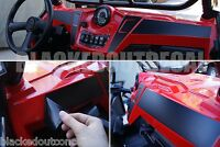 Polaris Ranger Rzr Xp 900 / Rzr 800 Flat Black Dash Overlay Kit Xp900 Matte