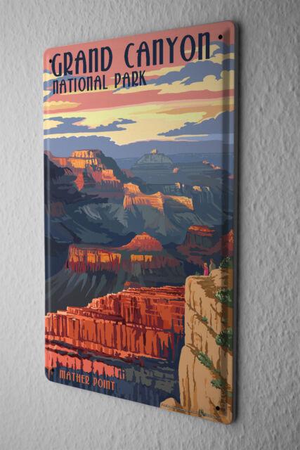 Tin Sign World Tour Grand Canyon