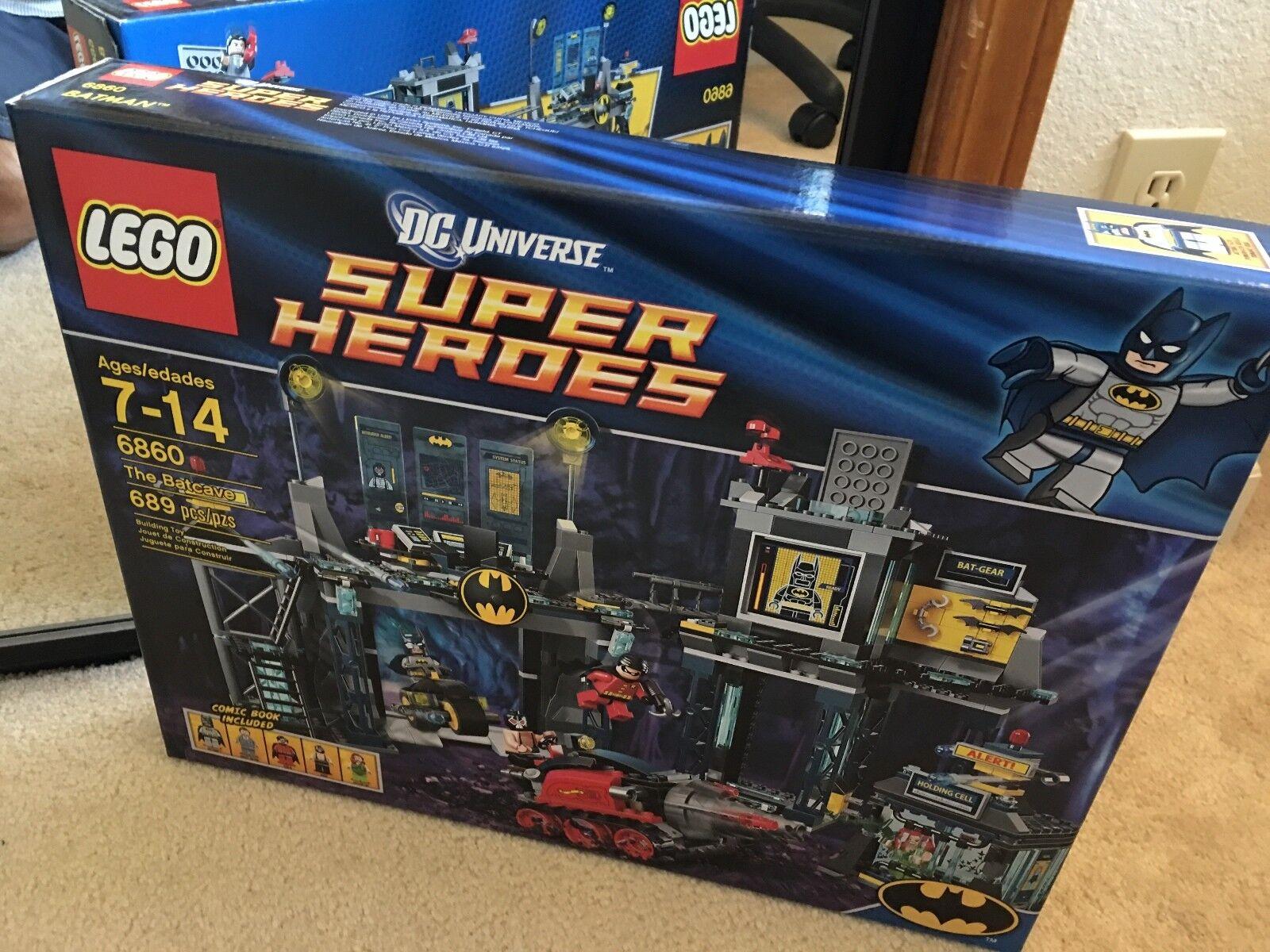 Lego 6860 Dc Universe Super Heroes La Baticueva Nuevo Sellado Menta N   rara