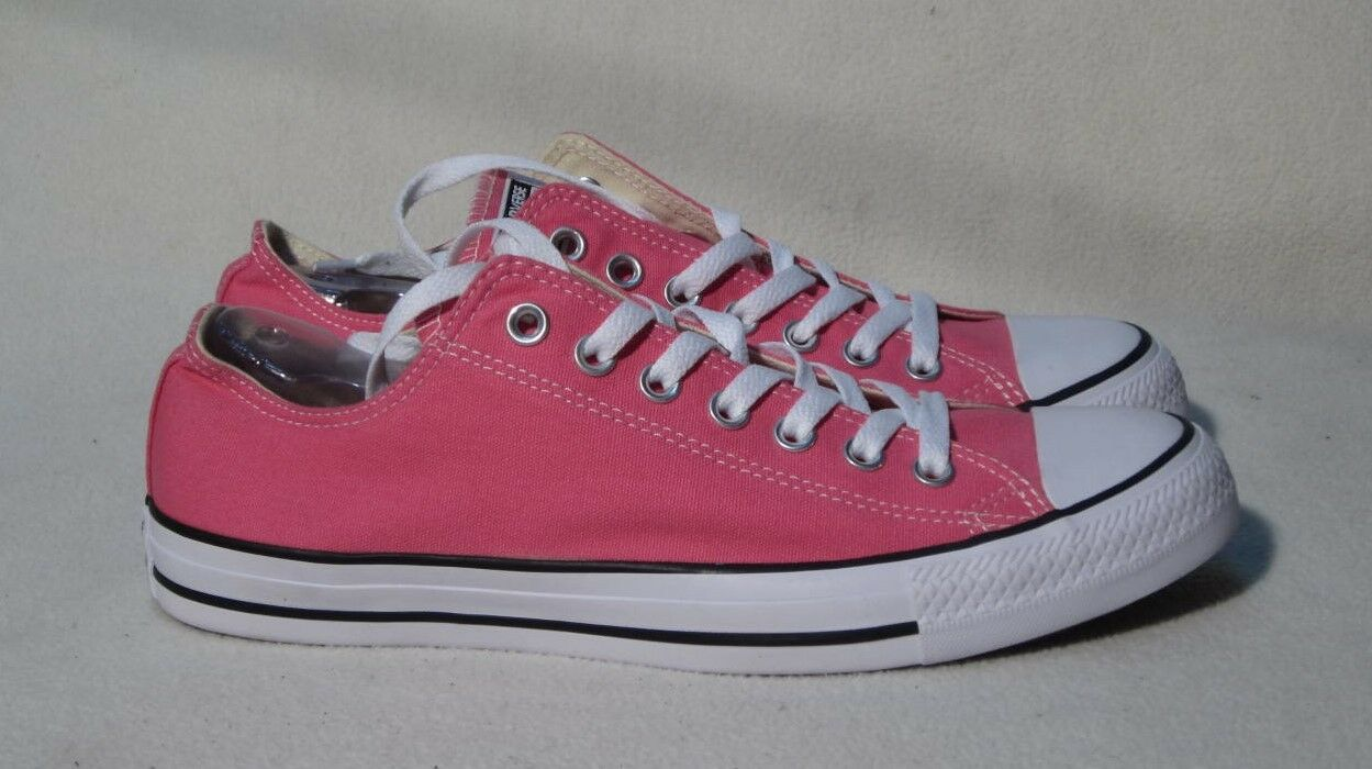 CONVERSE ALL 11 STAR PINK SNEAKERS WOMANS SIZE 11 ALL / Uomo SIZE 10 f07200