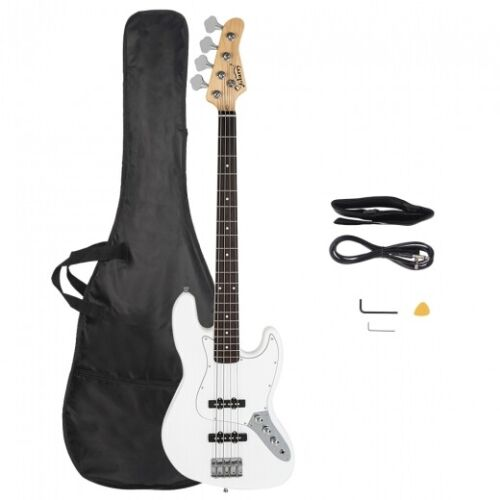 Glarry Jazz Electric Bass Guitar  Color Options GIG Bag /& More Free US Shipping