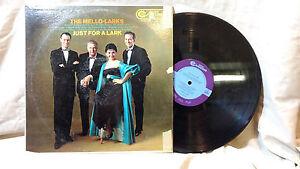 The-Mello-Larks-LP-Just-for-a-Lark-RCA-Camden-530-1959-Rare