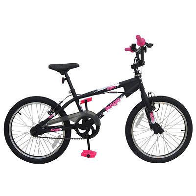 "Avigo Spin BMX Bike With 360 Alloy Handlebar Rotor & 20"" Wheels Bicycle"