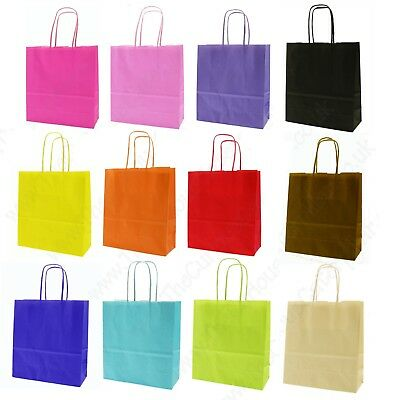 Birthday Loot Bags * Paper Carrier Gift Bags 14 Party Bag