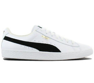 a5db70f7b8e Puma Basket Classic Leather Trainers Shoes Men s Women s 351912-03 ...