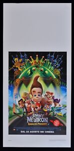 L136-Plakat-JIMMY-Neutron-Boy-Wunderkind-Boy-Genius-Animation