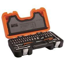 NEW BAHCO Socket Set of 46 Metric 1//4in Drive S460 BAHS460