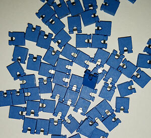 100x-BLUE-Mini-Micro-Header-2-54mm-0-1-034-Circuit-Board-Shunts-Short-Jumper-USA