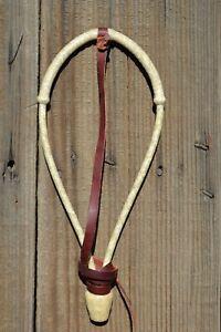 Jose-Ortiz-1-4-034-Natural-Rawhide-Bosalita-w-Forelock-Tie-Pear-Knot-12-Plait