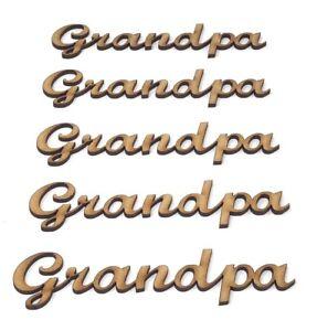 Grand-Mère Cadeau grand-mère Logo Grand-mère formulation Pack de 5 Craft lettres 15 cm large